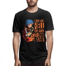 T-shirt Design Cool Anime Gurren Lagann Kamina T-shirt pour homme impression 3D T-shirt col rond T-shirt en gros