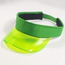 Été plastique visière casquette Tennis plage Club pare-soleil chapeau femmes hommes bleu vert blanc rose café léopard noir