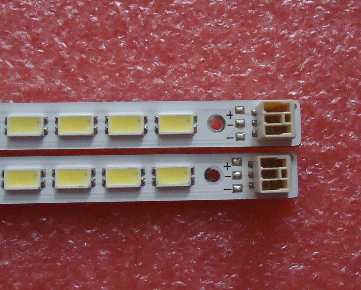 2piece/lot   FOR Hisense LED46XT39G3D  Article lamp LJ64-03035A screen LTA460HQ12 1piece=72LED 520MM