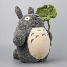 Anime Ghibli Miyazaki Hayao mon voisin Totoro peluche jouets Kawaii Totoro poupées souples 36 CM