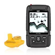 FF718Li-W chanceux détecteur De poisson moniteur sans fil Sonar détecteur De poisson détecteur De poisson 180m LCD LED rétro-éclairage écho sondeur De Pesca