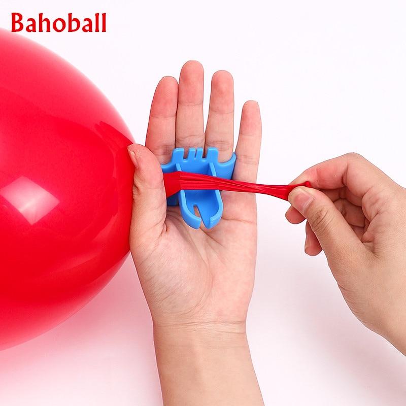 Nouveau 1 pièces rapide ballon noueur Latex ballons attache facilement noeud outil pour la saint-valentin fête danniversaire ballon accessoires