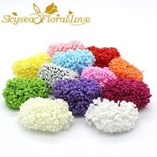 Sztuczna pianka PE lawenda dziecko oddech wianek pudełko cukierków akcesoria dekoracyjne sztuczne kwiaty lawendy