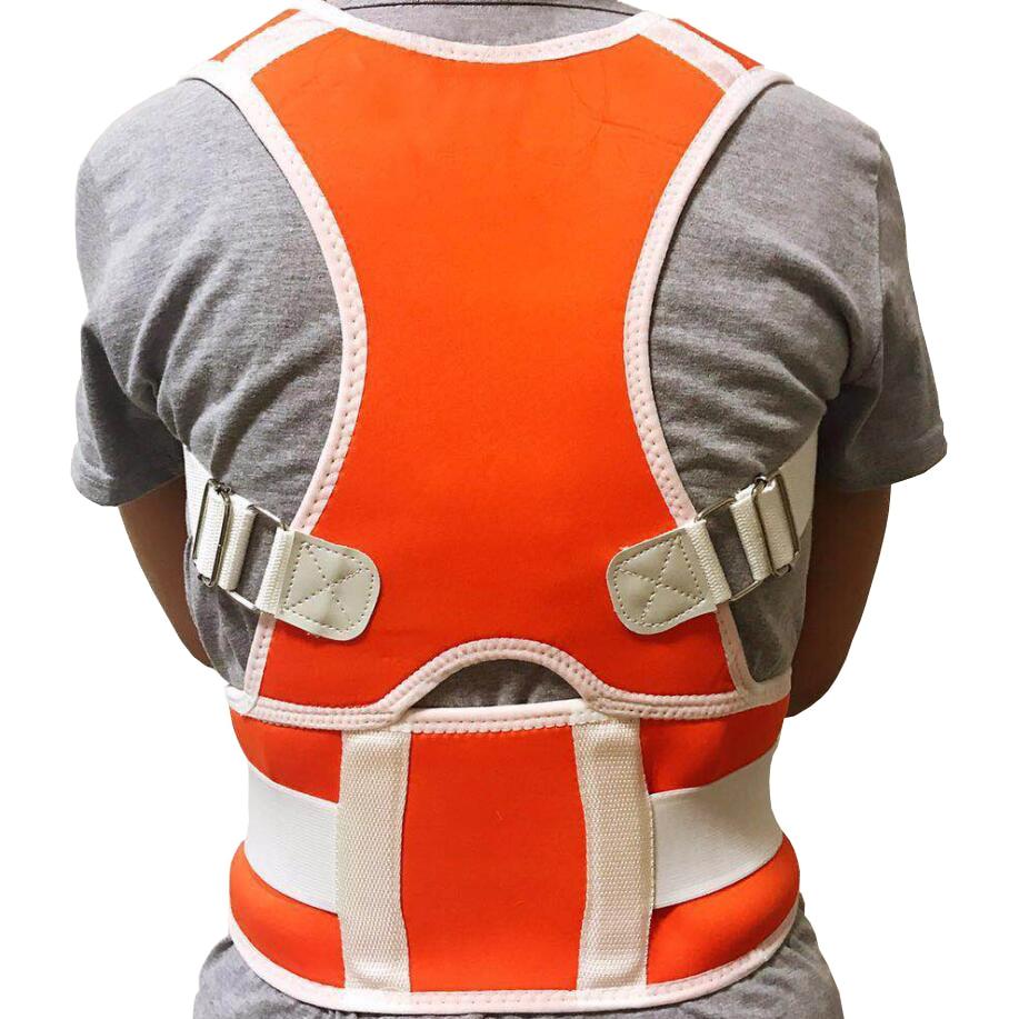 Регулируемый Корректор осанки для мужчин и женщин, поддерживающий спинку через плечо, поддерживающий пояс, корректор постурального выпрям...