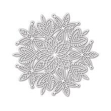 Pochoir en cœur Mandala pour bricolage   Scrapbooking, en papier pour bricolage, cartes, modèles en plastique amusants, décor, nouveau 6x6 pouces, peinture à la main