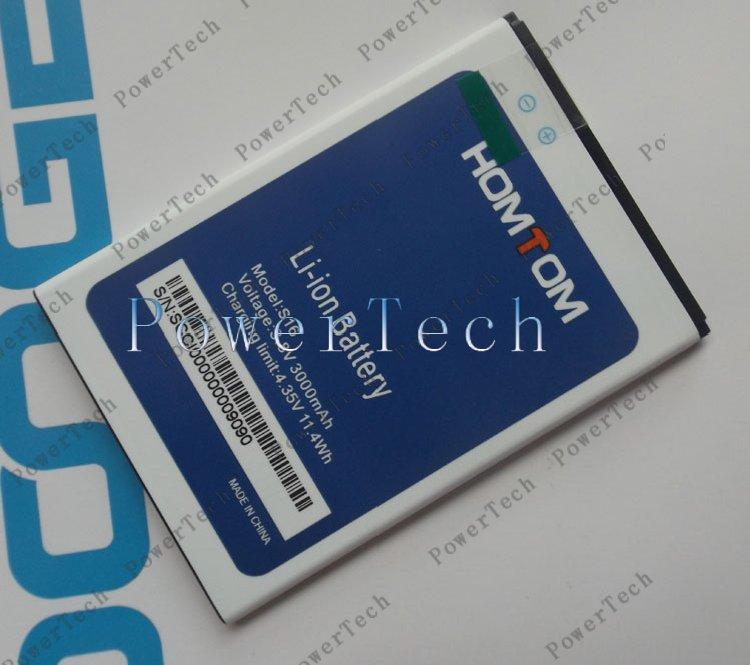 100% оригинал S16 батарея замена 5,5 дюймов HOMTOM S16 батарея мобильного телефона