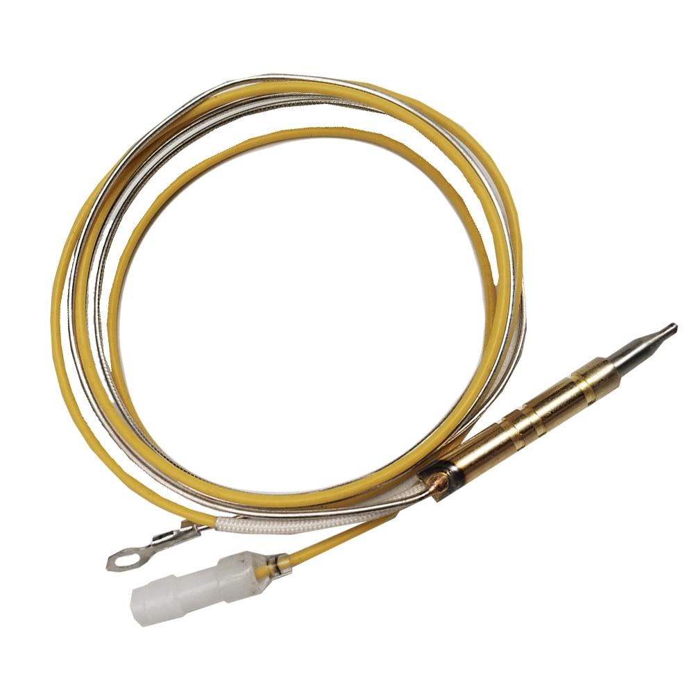 MENSI cocina de Gas, estufa de rango, Sensor de cable de termopar, 800mm, cables dobles individuales, termopila, 5 unids/lote