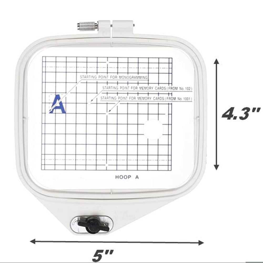 Sew Tech Embroidery Hoop for Janome Embroidery Machine Frames for Janome MC300E 350E Elna820 8200 8300 8600 JA807