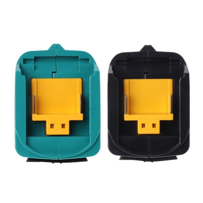 Adaptador de Carregamento USB Para Makita ADP05 BL1815 BL1830 BL1840 BL1850 1415 14.8-18V JUL14-B