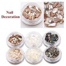 1 caja de lentejuelas para decoración de uñas, de Gel UV, para decoración de uñas