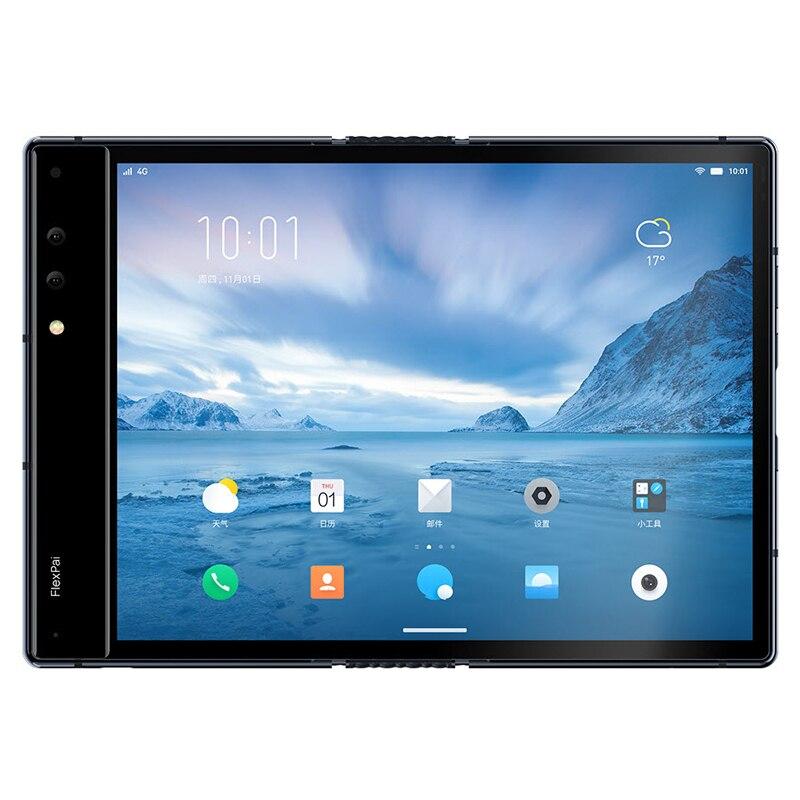 Фото3 - Оригинальный складной телефон Royole FlexPai, гибкий AMOLED экран 7,8 дюйма, 6 ГБ + 128 ГБ, Восьмиядерный Snapdragon 855, 3970 мАч смартфон