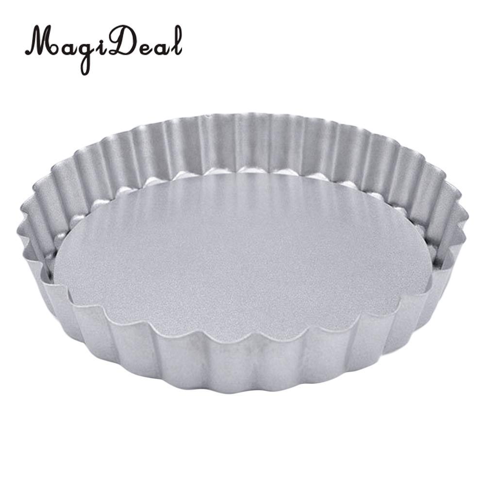 Антипригарный мини-тарталет, заварной крем, пирог, пирог, сковорода, Tart Tins, выпечка