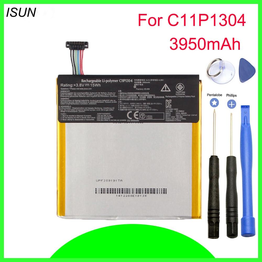 ISUNOO 3950mAh 15Wh C11P1304 batería de polímero de litio para Asus Memo...