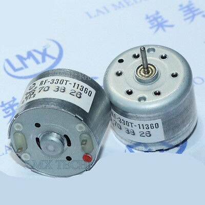 Mini motor elétrico 3200 da c.c. da c.c. 3 v RF-330T rpm para o leitor do cd de vdc dvd
