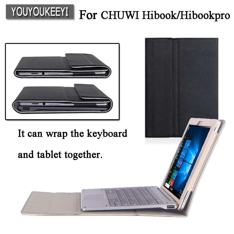 High-quality Original Business Folio Stand Cover Case For CHUWI HiBook Pro / HiBook XR/Hi10 Pro/HI10 AIR 10.1 inch Tablet +gift