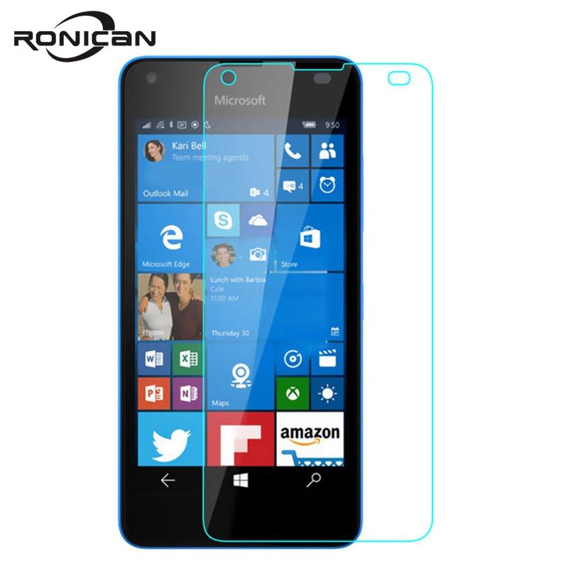 Закаленное стекло для Nokia Microsoft Lumia 550, Защитная пленка для экрана 9H 0,26 мм 2.5D, Противоударная Защитная пленка для Lumia550 N550