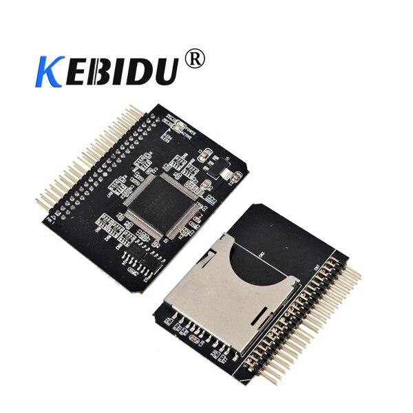 "Kebidu, tarjeta de memoria SD/SDHC/SDXC/MMC segura Digital a IDE 2,5 "", 2,5 pulgadas, 44 P, 44 Pines, adaptador macho, convertidor SD 3,0"
