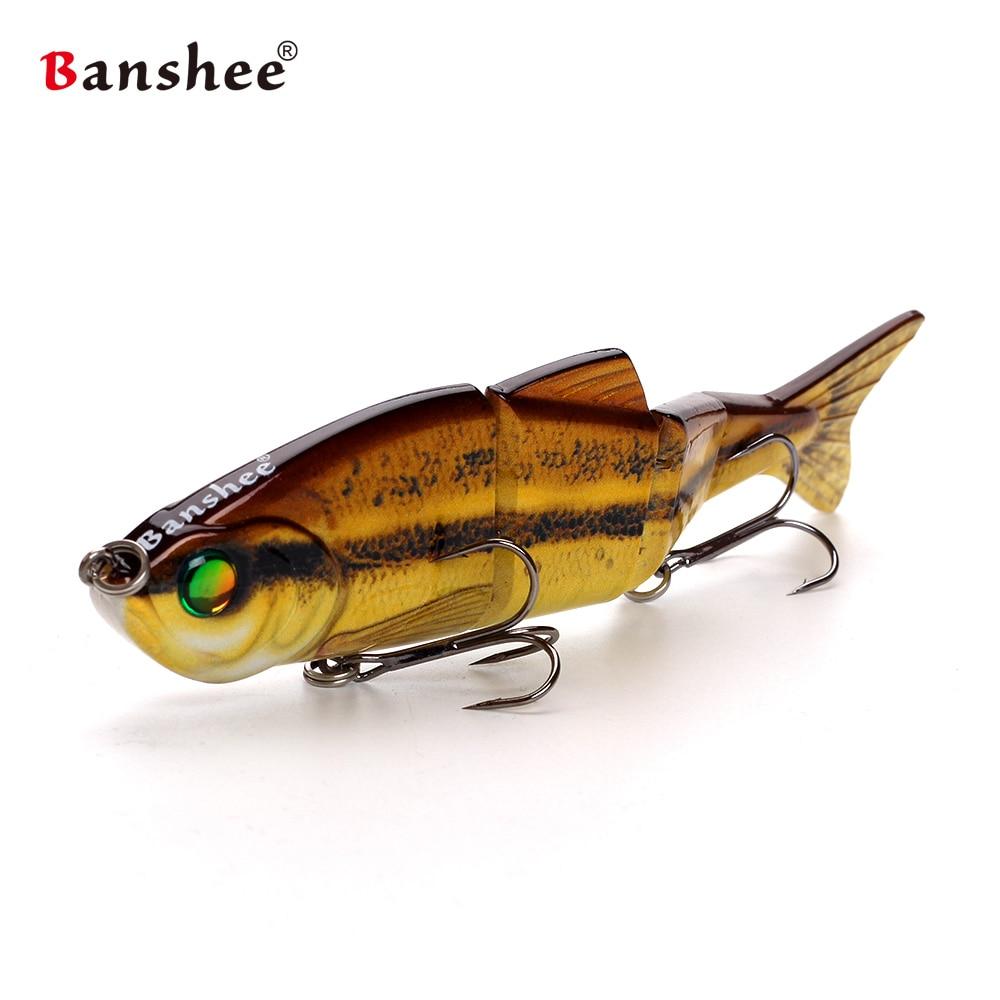 Banshee 153mm 35g Nexus Prophecy MM VMJ04-6 section artificial hard bait Multi  4 Jointed Sinking lifelike swimbait for bass enlarge