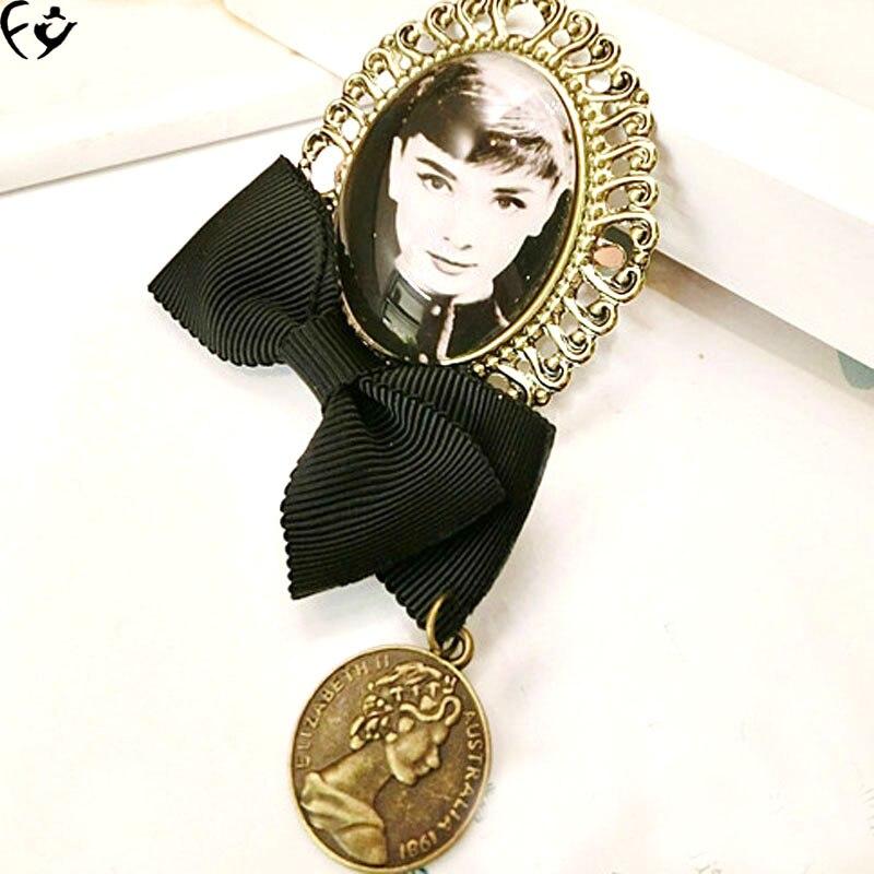 Edição coreano vende beleza do vintage broche roupas acessórios FANGY17080426