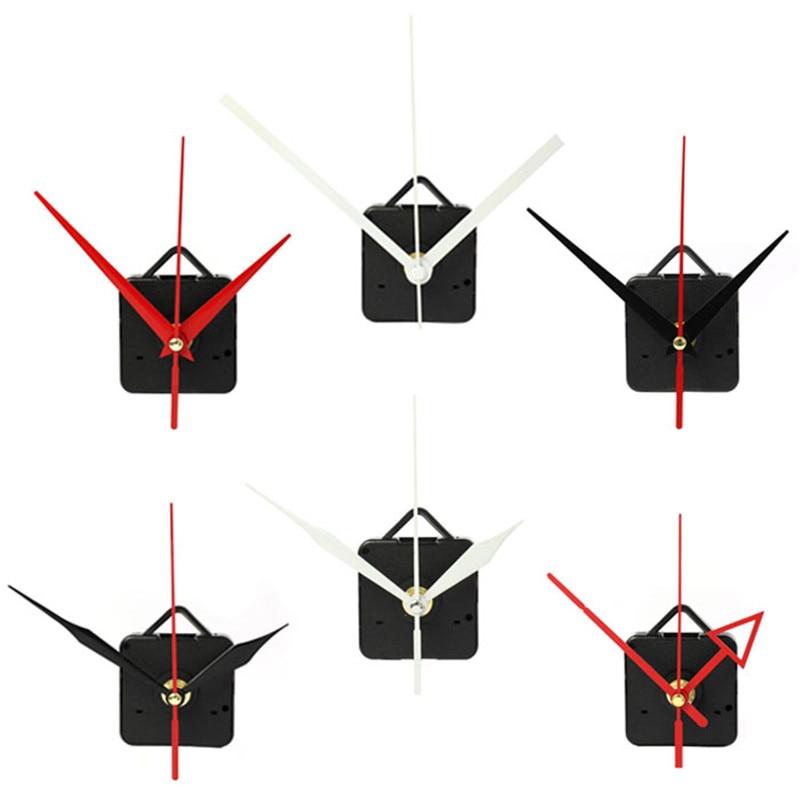 High Quality Quartz Clock Movement Mechanism with Hook DIY Repair Parts + Hands Home Decor Silent 12 inch