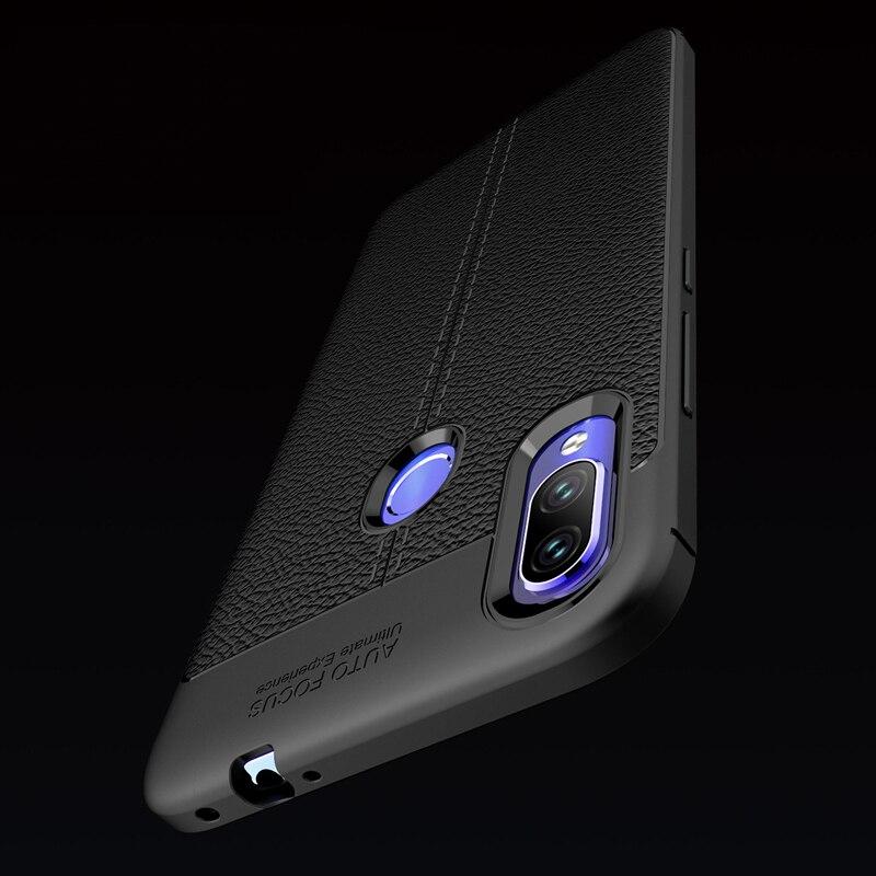 KaiNuEn para xiomi n7 de lujo tpu ETUI trasero de teléfono, coque, cubierta, funda para xiaomi redmi note 7 note7 accesorios de silicona suave