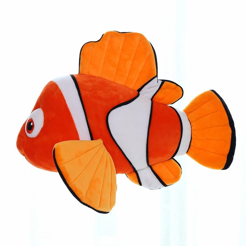 1 pc 23 cm trouver Nemo Dory film mignon Clown poisson en peluche jouets peluche Animal Dory peluche poupée enfants beau cadeau 2 couleurs