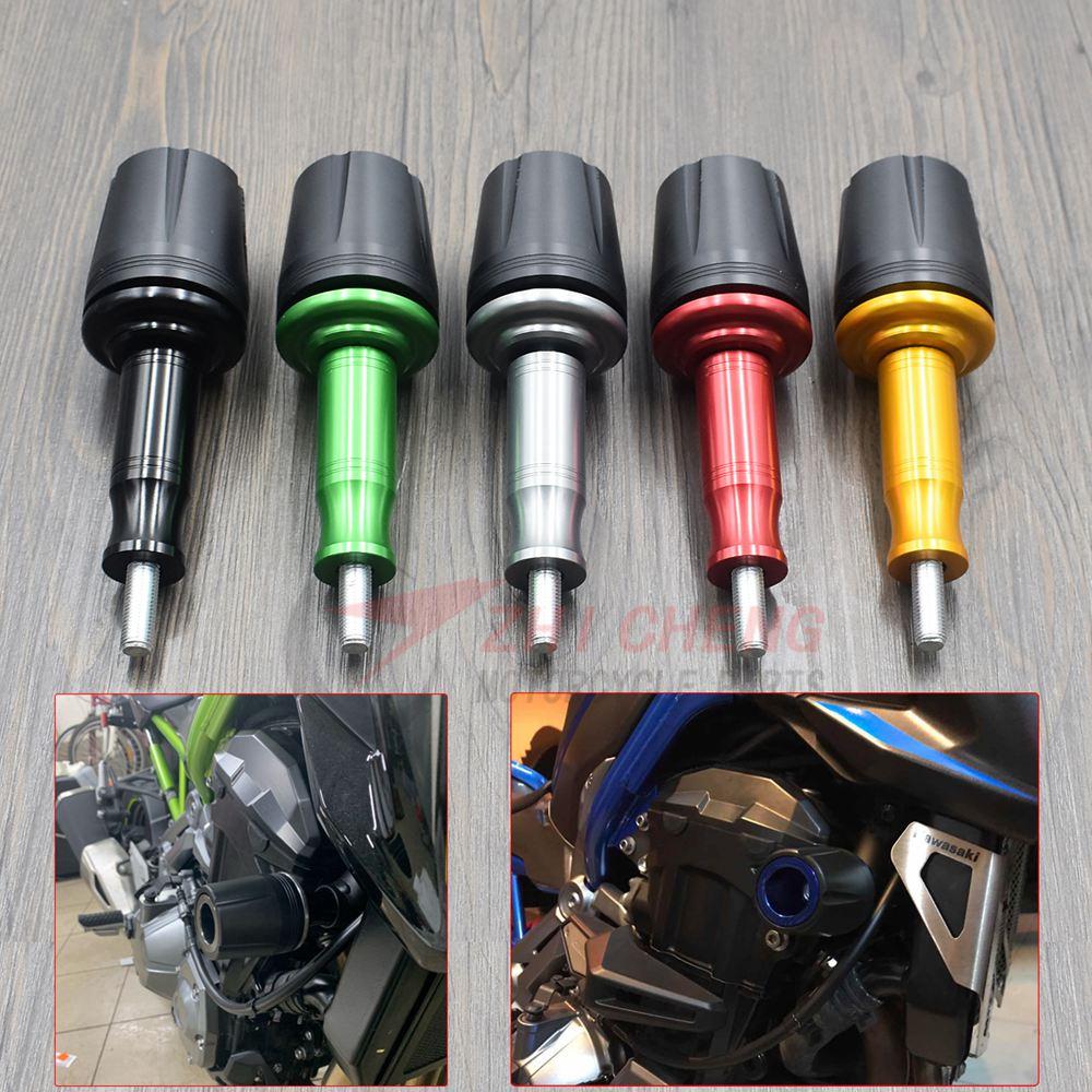 غطاء حماية للدراجات النارية ، إطار حماية من السقوط ، منزلق ، انسيابية ، ممتص صدمات لكاواساكي Z900 2017 2018 Z250 Z300 Z650 V650
