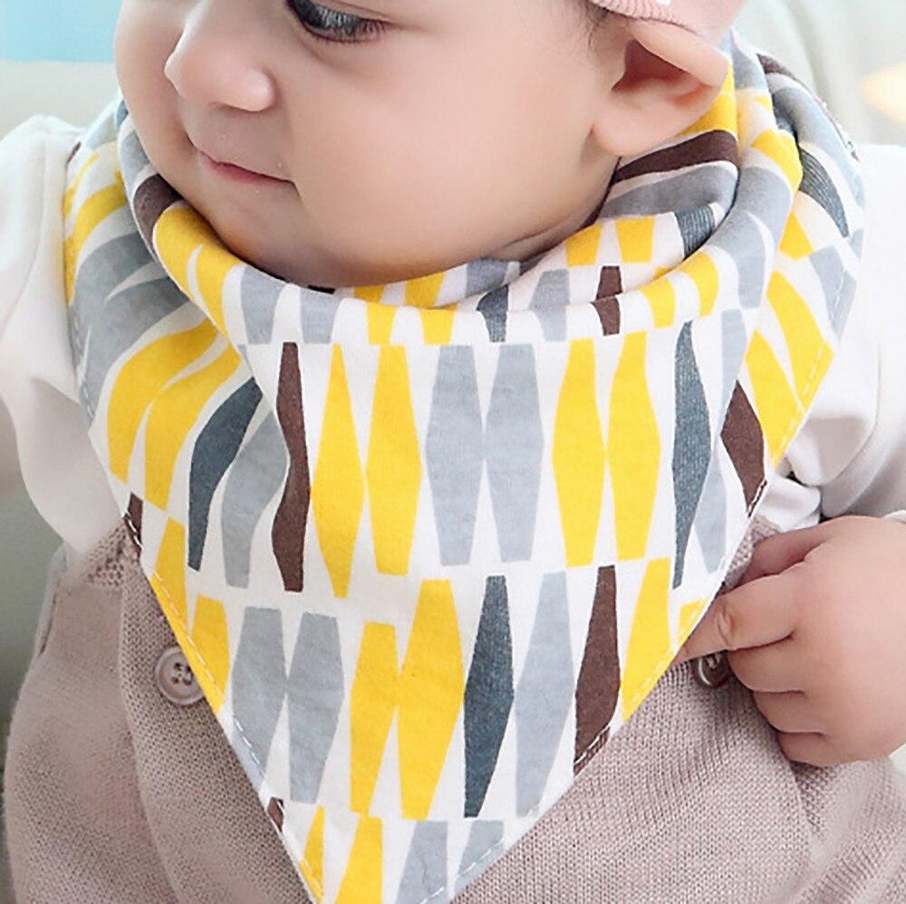 Baberos de bebé Bandana de algodón babero de alimentación babero de dibujos animados ropa de bebé 3 piezas k425