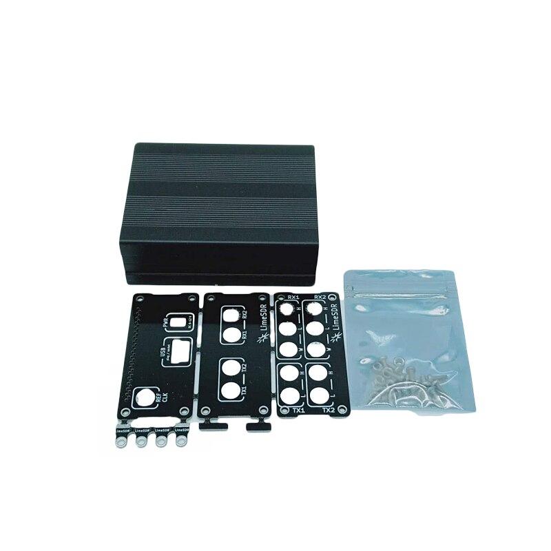Новый 1 шт. алюминиевый корпус черный чехол Корпус USB для общего использования для LimeSDR Lime SDR Type-A Type-B