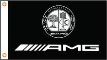 Custom flagge auto AMG logo banner 3x5ft 100% Polyester 012
