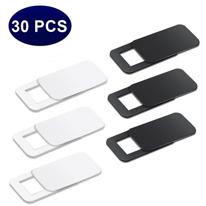 Tongdaytech 30 шт. чехол для веб-камеры с затвором Магнитный слайдер ультра тонкий пластиковый чехол для камеры для IPhone Macbook Ноутбуки объектив для ...