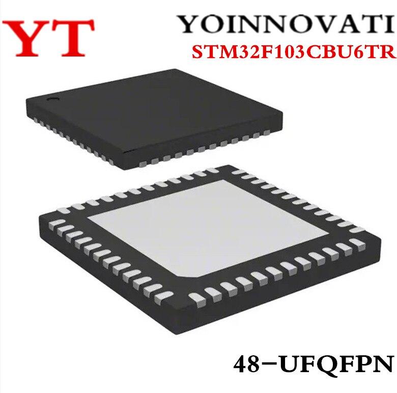 20pcs/lot STM32F103CBU6TR STM32F103CBU6 STM32F103 MCU 32BIT 128KB FLASH 48QFPN best quality.