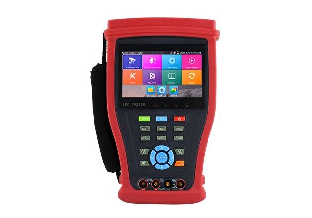 4,3 pulgada CCTV prueba Monitor TFT-LCD 960*540 de resolución Control PTZ 8MP cámara portátil de AHD TVI CVI CVBS de