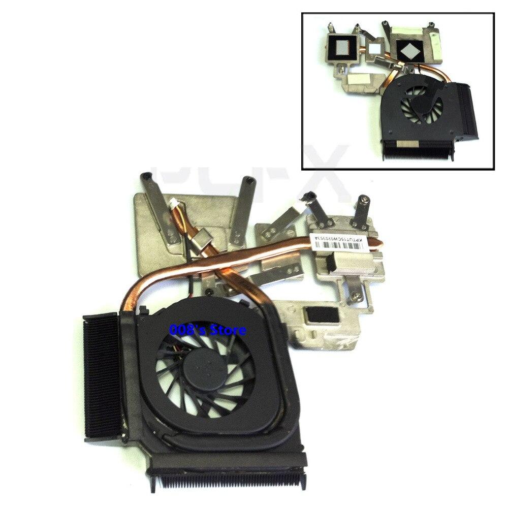 Novo ventilador do dissipador de calor do refrigerador da cpu do portátil para hp pavilion DV6-1000 DV6-2000 DV6-1210SF DV7-3000 532141-001 532614-001 dfs551305mc0t