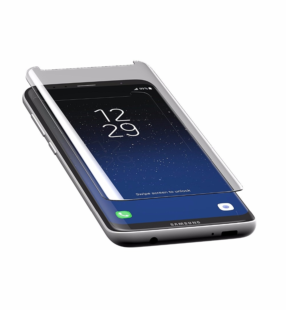 Case Friendly Tempered Glass Screen Protector for Samsung Galaxy S8 S9 Plus Note 8 Glass 3D Curved F