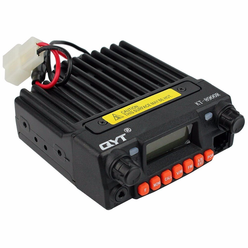 Qyt KT-8900R rádio móvil tri-banda mini base vhf/220-270 mhz (1,25 m) /transceptor uhf amador (ham) potência de transmissão