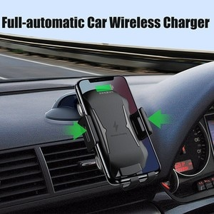 Car Charger For Blackview BV9600 Pro BV9500 BV6800 Pro BV5800 Pro Wireless Chargers Qi Air Vent Mount Charge Pad Charging Dock