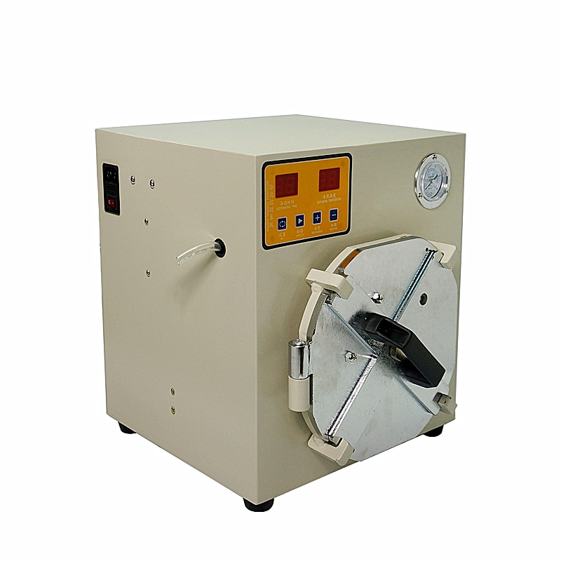 New arrival auto air lock LY 952A mini digital Bubble defoam machine 220V 110V for max 8 inches LCD screens enlarge