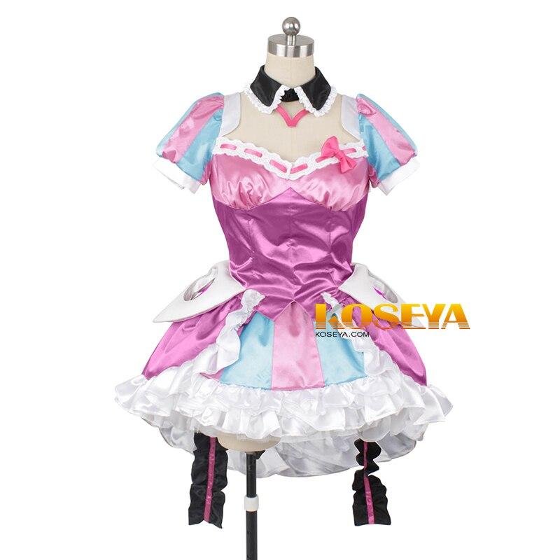 Macross Delta Makina Nakajima uniformes Cosplay traje envío gratis