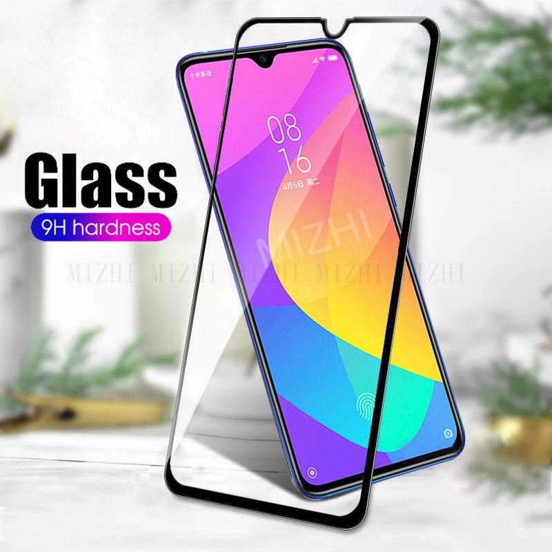 Vidrio templado para Xiaomi mi CC9 CC9E vidrio Protector en Xio mi Xao mi XY mi CC9 E CC 9E CC9E CC9mt Protector de pantalla película de seguridad