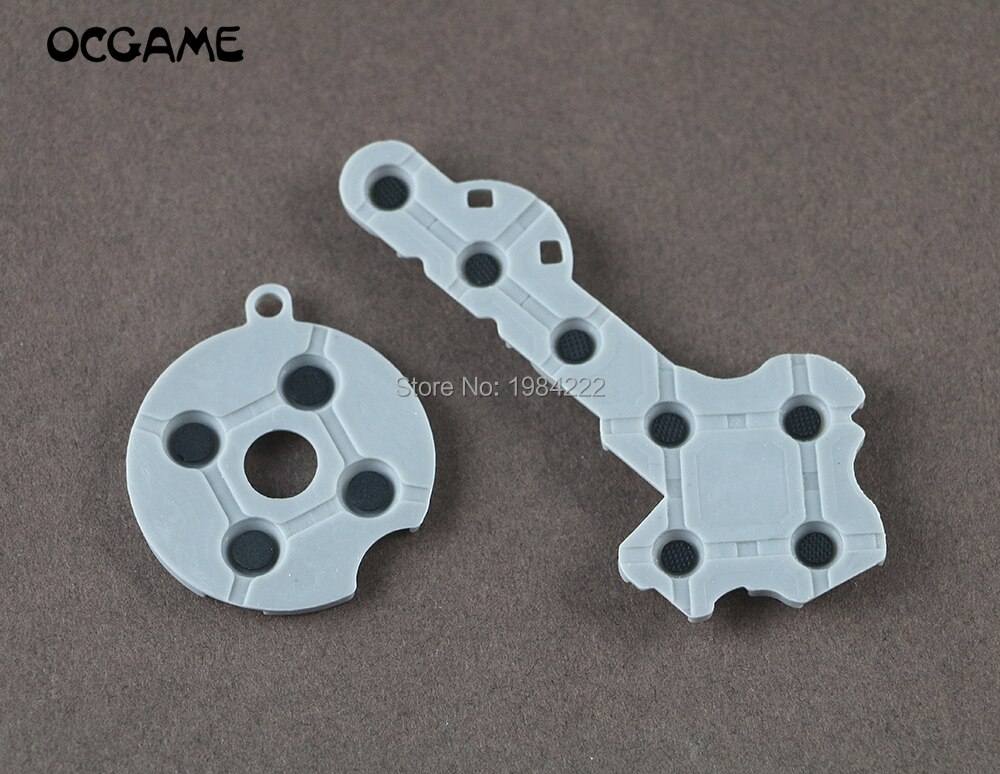 Almohadillas de goma de conductor de silicona de alta calidad OCGAME 60 set/lote para xbox360 Xbox 360 botones de contacto del controlador