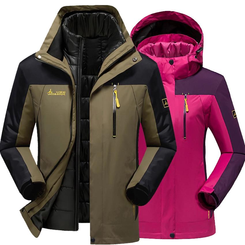 Мужская и Женская куртка, уличная, толстая ветровка, мужская, зимняя, для кемпинга и пеших прогулок, пуховик, пальто для мужчин и женщин, ветр...