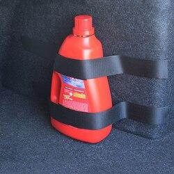 Correia extintor de incêndio de carro 4 pçs/set, correia de nylon para renault kangoo dacia scenic megane sandero capture modus koleos