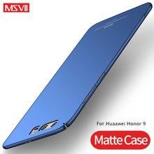 Для Huawei Honor 9, чехол MSVII, ультра тонкий матовый чехол для Huawei Honor 9 Lite, чехол, Honor 9, жесткая задняя крышка, Honor 9 Lite, чехлы