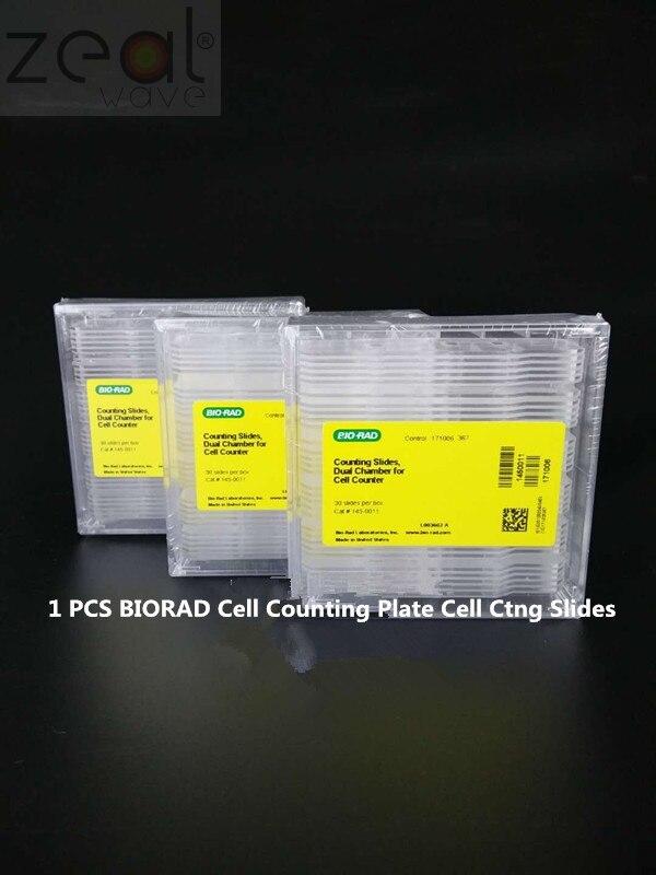 1450015 BIORAD celda contando placa celular diapositivas 5x30 2-BIORAD 1658040 de proteína de electroforesis Vertical tanque ranura vacía