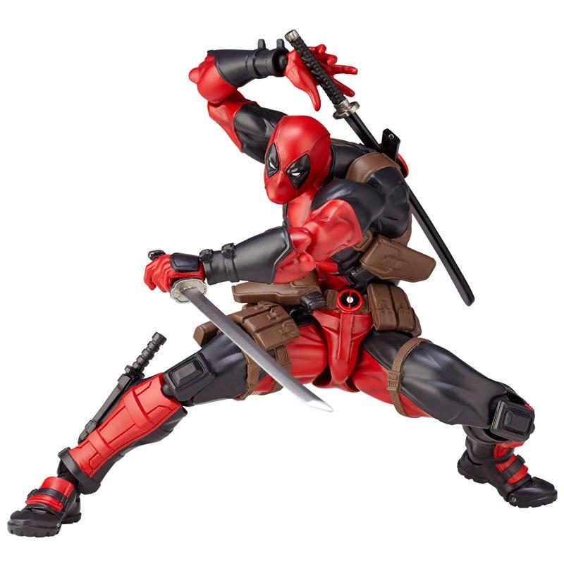 Marvel 15 centimetri X-MAN DeadPool Super Hero BJD Giunti Mobile Action Figure Giocattoli di Modello