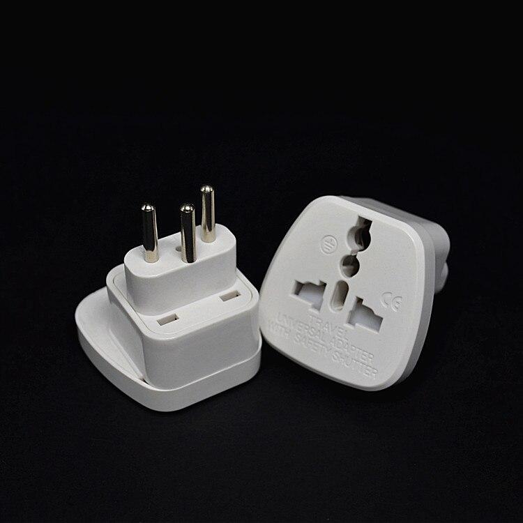 10 pçs/lote branco portão safty suíça swiss travel plug adaptadores universal eua reino unido au para ue swiss plug de energia elétrica adaptador