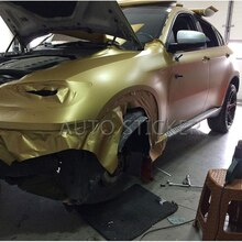 1.52*5/10/15/20/30M Golden Matte Car Wrap Vinyl Film Matte Black Vinyl Wrap Matt Gold Wrap Air Free Vehicle Wraps