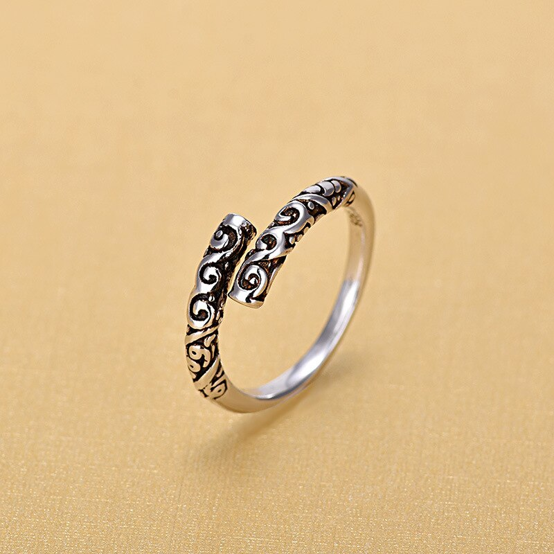 2019 New Arrivals Thai 925 Sterling Silver Rings for Women Ring Fashion Jewelry