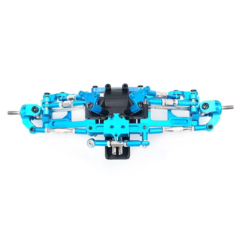 Mirbest RC DIY Parts For Wltoys 12428 parts 12423 JJRC Q46 RC car Metal parts Upgrade accessories Metal gear wave box  Base C enlarge